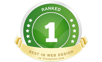 Trustpilot badge - HotDoodle ranked 1 in web design